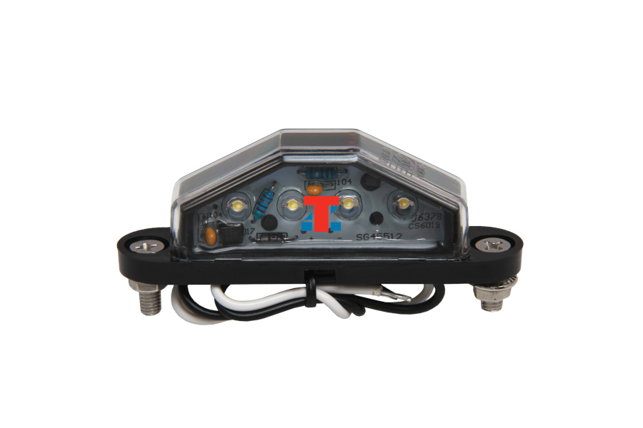 NUMBER PLATE LAMP